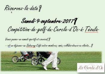 Illustration : Compétition de Golf